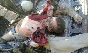 Екзекутираният от Челик руски пилот.