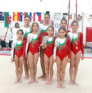 """Гимнастичките на """"Етър-Стил"""" с две титли от международен турнир"""