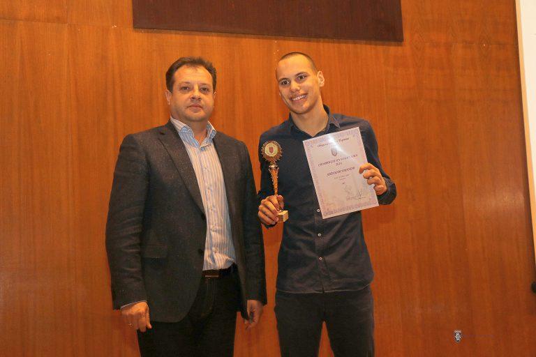 Плувецът Антъни Иванов е спортист на годината на Велико Търново