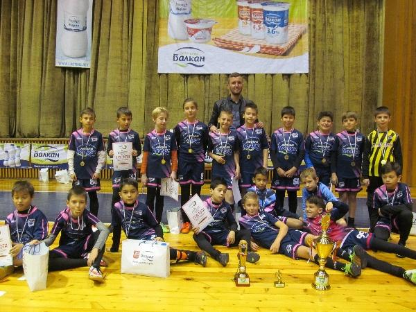Болярчета доминираха на турнира във Велико Търново