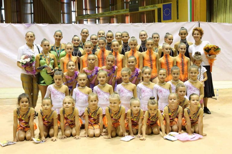 Успех на малките гимнастички от Велико Търново