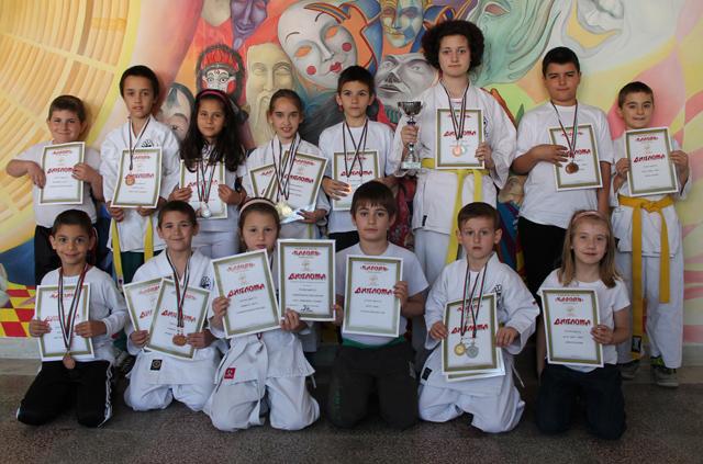 Общинско междуучилищно първенство по карате