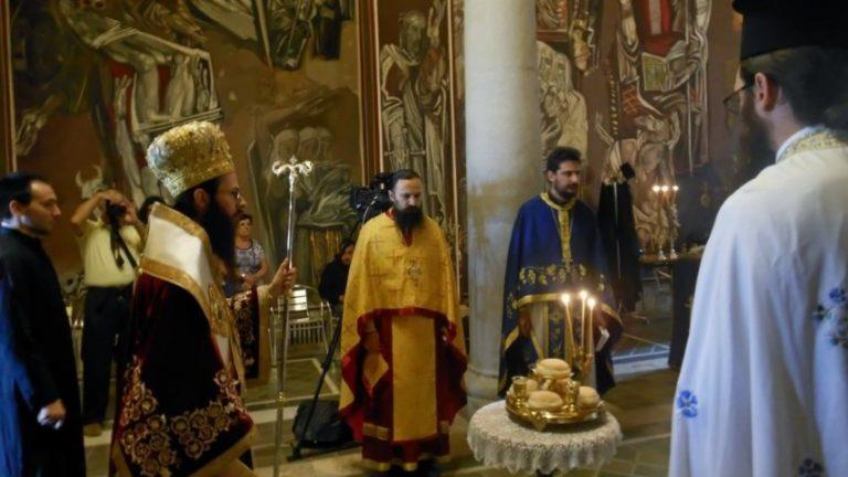 Църковни песнопения в Патриаршията във Велико Търново за 8 декември