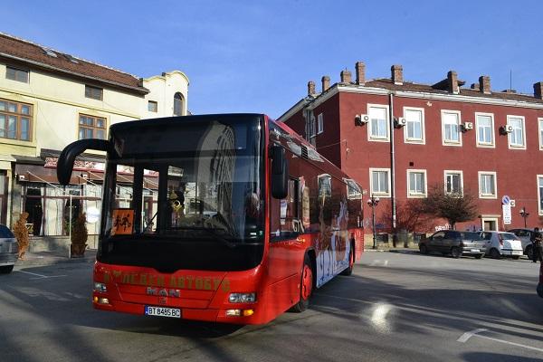 Безплатен ще е общественият транспорт в града на 1 януари