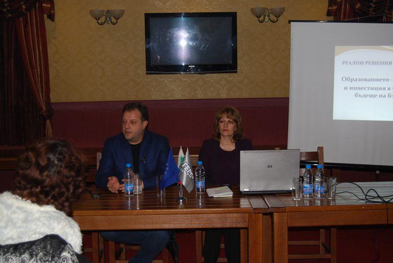Великотърновски учители доволни, че имат силно представителство в листата на ГЕРБ