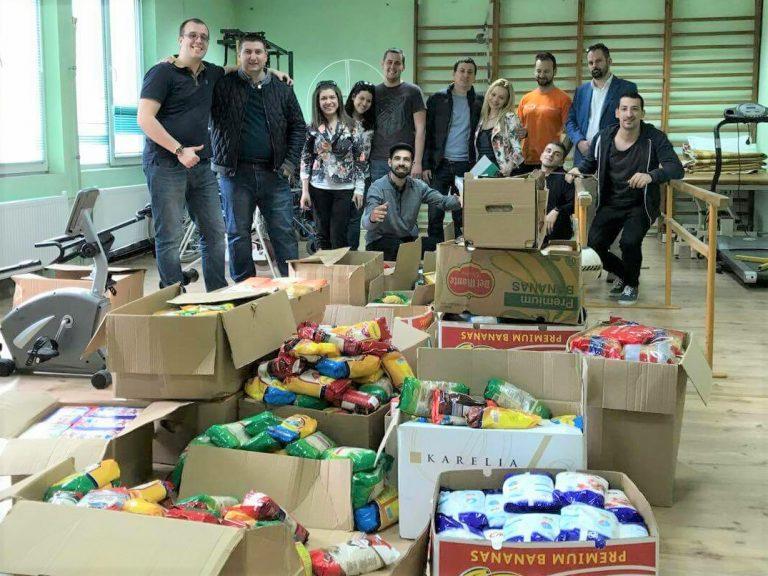 1,466 кг събрана храна и над 1,000 включили се добри хора