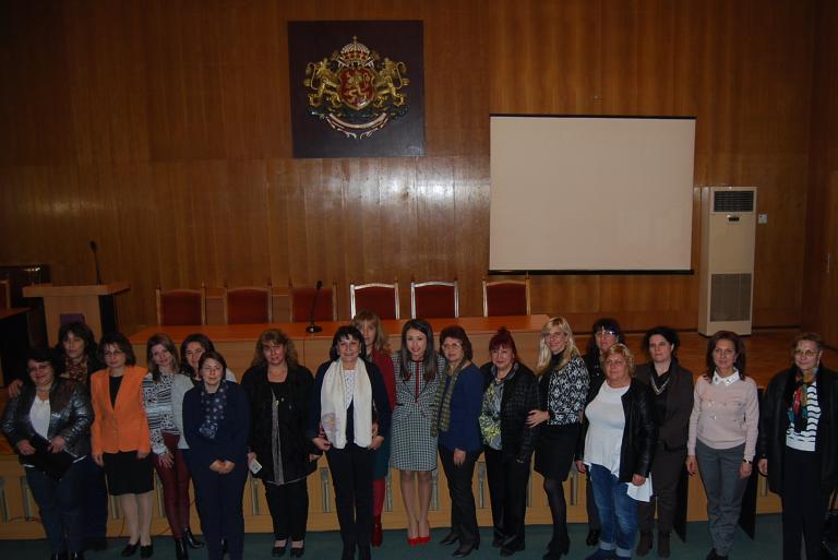 Най-активните дами в ГЕРБ са от Свищов, Горна Оряховица и Павликени