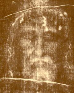 Образът на Христос, отпечатан върху Туринската плащеница, Турино, Италия