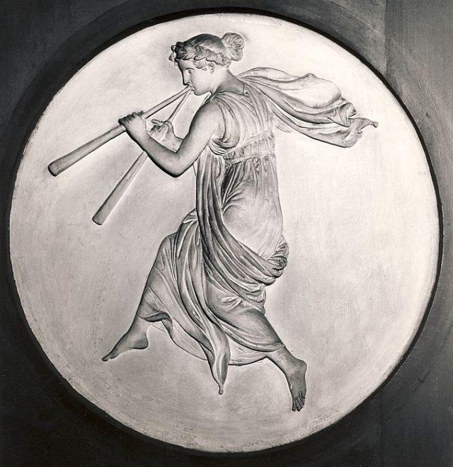 Евтерпа, гръцката муза на поезията и музиката