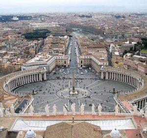 """Базиликата """"Свети Петър"""" във Ватикана"""